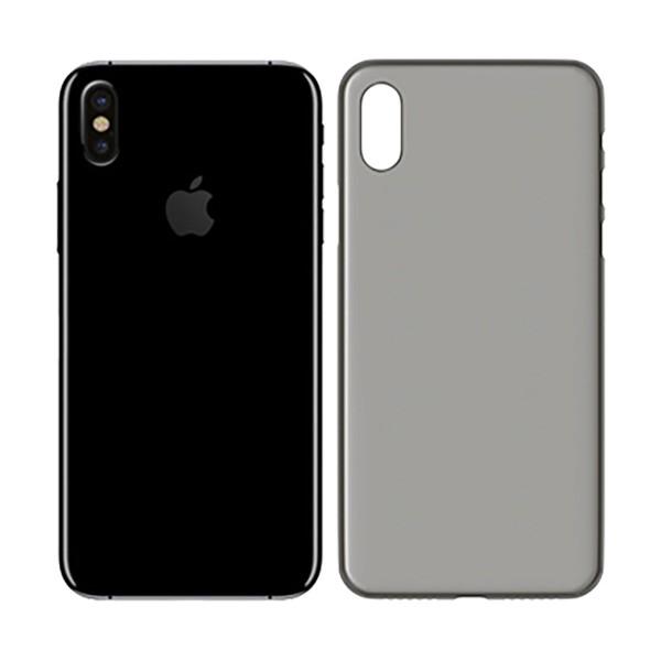3mk naturalcase negro carcasa trasera apple iphone iphone x de alta calidad