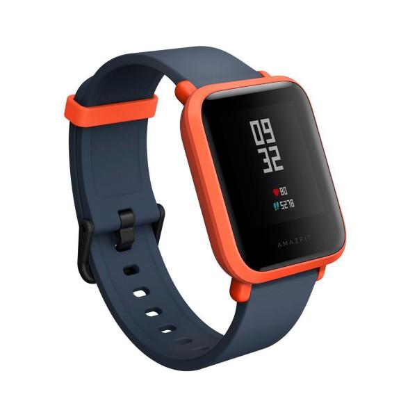Xiaomi amazfit bip rojo smartwatch 1.28'' wifi gps bluetooth pulsómetro notificaciones inteligentes
