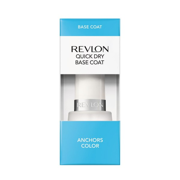Revlon quick dry base coat anchors color
