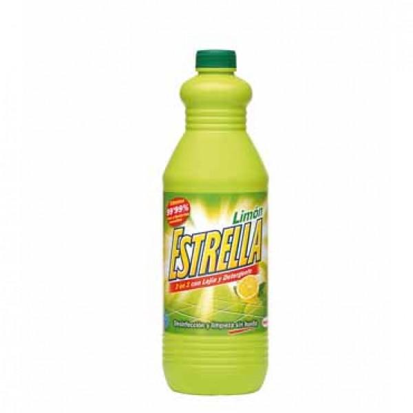 Estrella limon lejía y detergente 1.5 l