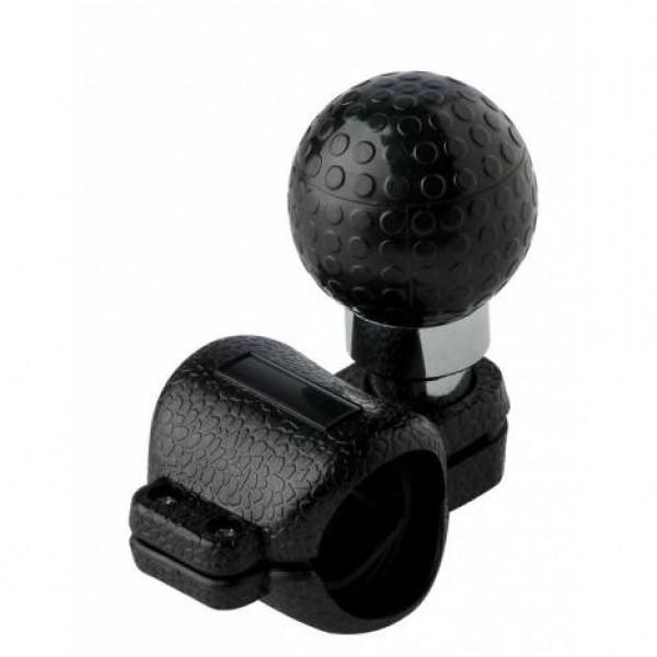 Pomo volante universal bola golf negro