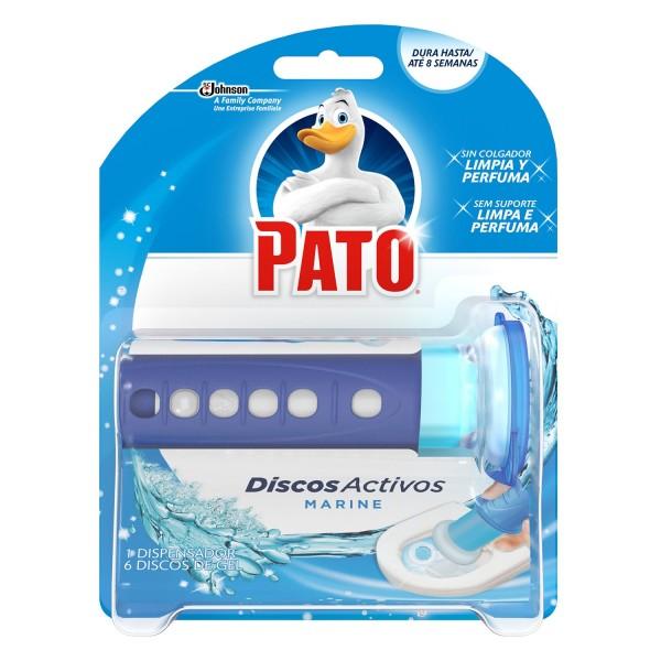 Pato dispensador discos activos marine + 6 discos gel