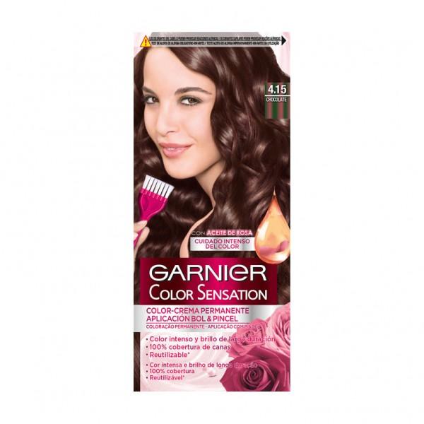 Garnier sensación tinte nº4.15  chocolate