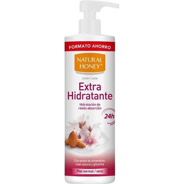 Natural honey  loción  extra hidratante 700 ml