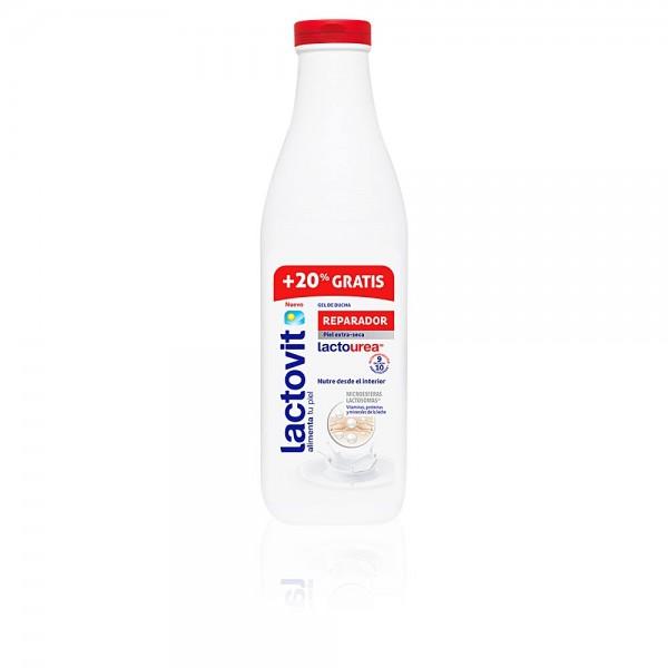 Lactovit gel ducha reparador lactourea 600+120ml