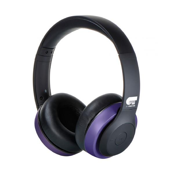 Ot by fonestar harmony morado auriculares inalámbricos bluetooth con micrófono integrado y conexión aux