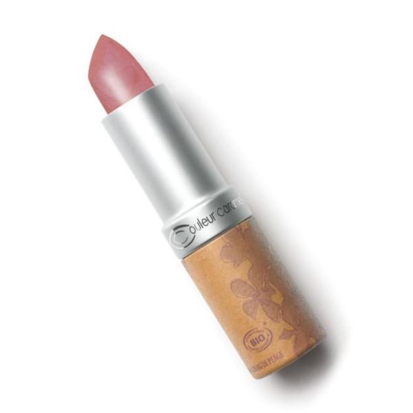 Couleur caramel rouge a levres glossy barra de labios 256 incandescent beige