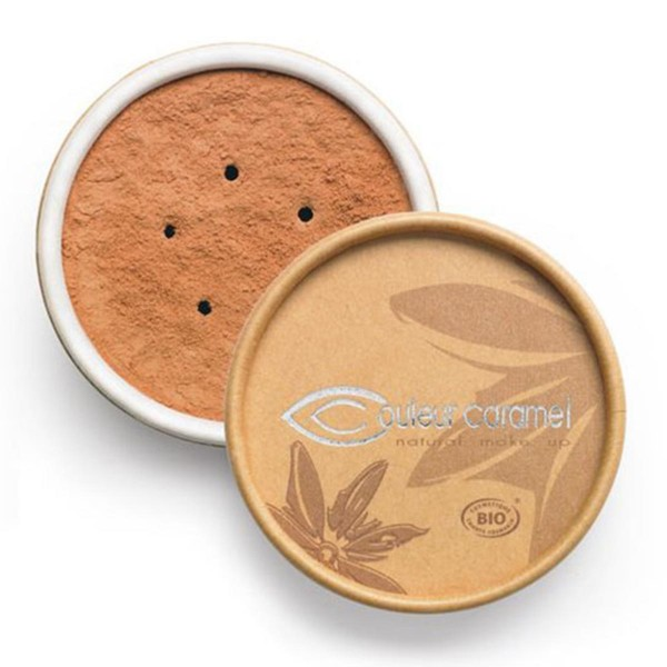 Couleur caramel bio mineral foundations polvos 04 golden beige