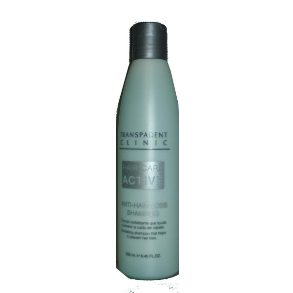 Transparent clinic hair care champu anti-caida 250ml