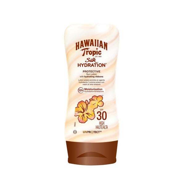 Hawaiian tropic silk hydration sun locion spf30 high 180ml
