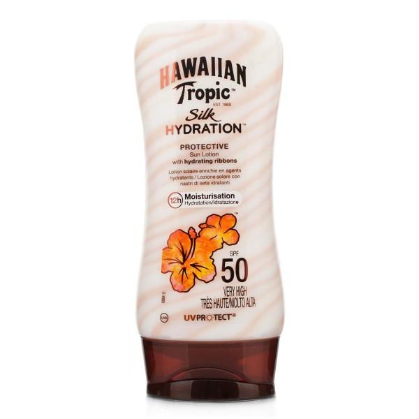 Hawaiian tropic silk hydration protective sun locion spf50 very high 180ml