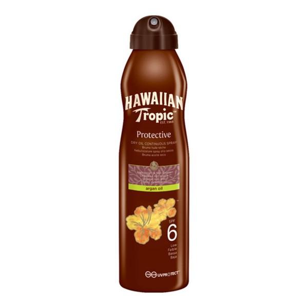 Hawaiian tropic protective argan oil spf6 177ml
