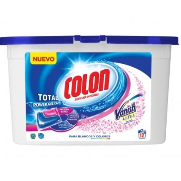 COLON Detergente CAPS. GEL VANISH 12 u