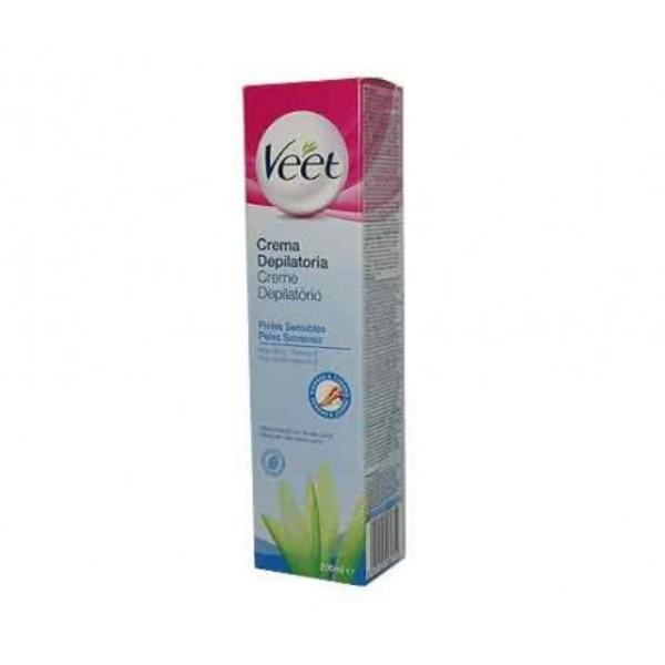 Veet  crema depilatoria pieles sensibles  200 ml