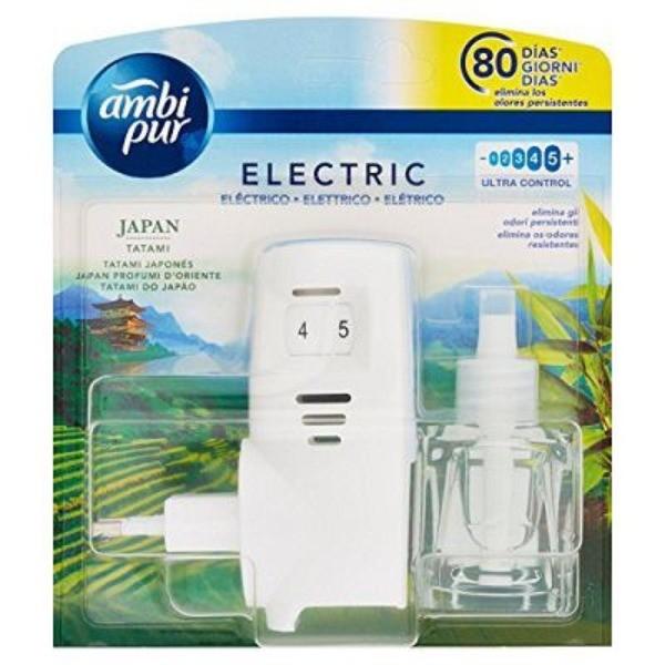 Ambipur  Ambientador Eléctrico difusor y recambio Japan Tatam