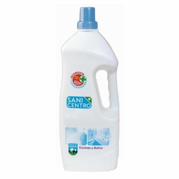 Sanicentro Cocinas y Baños Limpiador Clorado 2 L