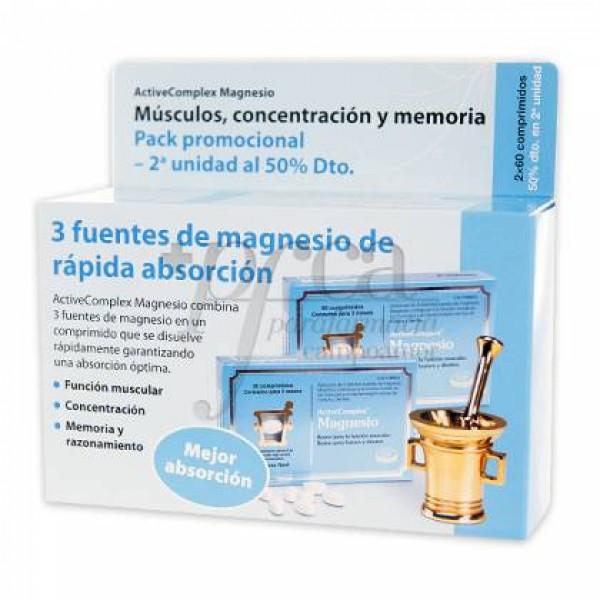 ACTIVECOMPLEX MAGNESIO 2X60 COMPS PROMO