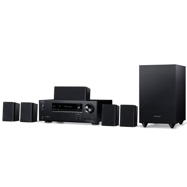 Onkyo ht-s3910 negro altavoces y receptor de cine en casa 5.1 dolby atmos dts:x 4k hdr