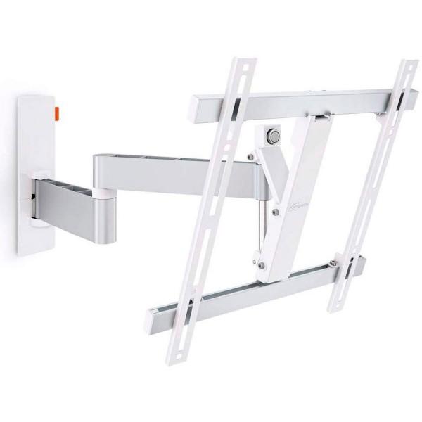 Vogels wall 3245 blanco soporte tv giratorio para pantallas de 32 a 55'' 20kg vesa 400x400