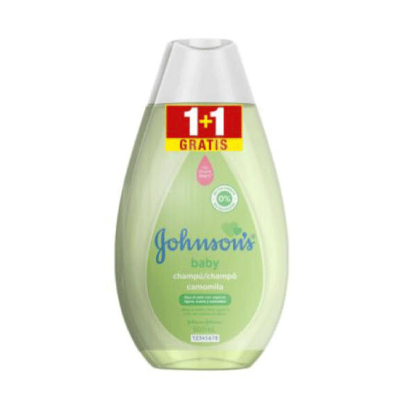 Johnson's champú Camomila 500 ml + 500 ml GRATIS