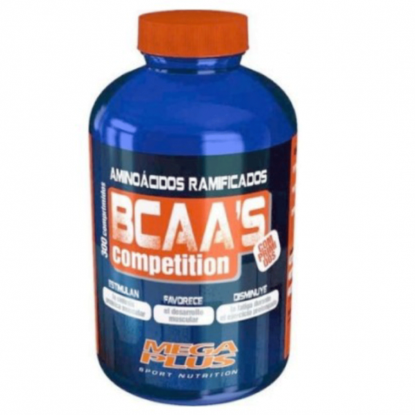 Bcaa's competition 300 comprimidos