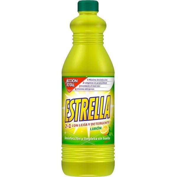 Estrella lejía y detergente Limón 1,350ml
