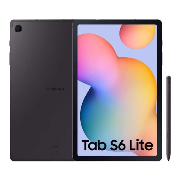 Samsung sm-p615 tab s6 lite gray con s pen tablet 4g 10.4'' wuxga+/8core/64gb/4gb ram/8mp/5mp