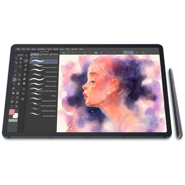 Samsung sm-t970 tab s7+ negro con s pen tablet wifi 12.4'' 120hz wqxga+ octacore 128gb 6gb ram dualcam 13mp selfies 8mp