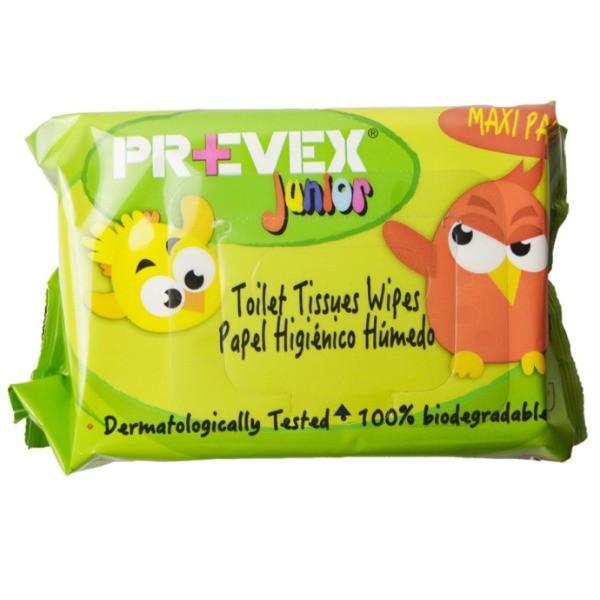 Prevex toallitas Junior Camomila 100 uds