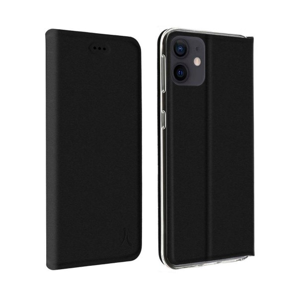 Akashi funda folio negro apple iphone 12/12 pro
