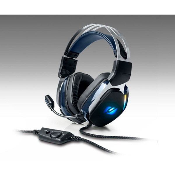 Muse m-230 gh rgb auriculares over-ear con micro para gaming